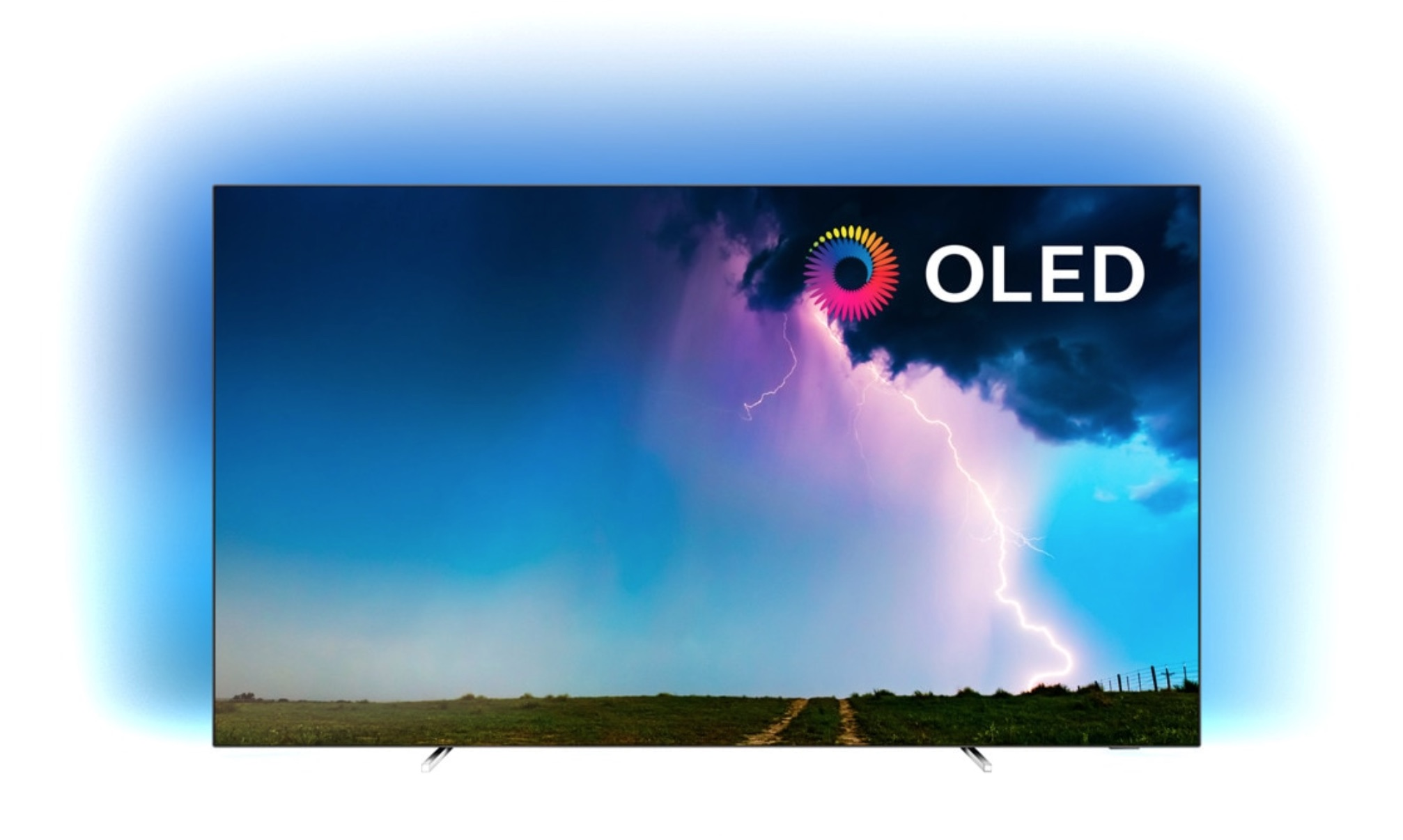 "TV OLED 139 cm (55"") Philips 55OLED754/12 4K HDR Smart TV con Ambilight y Saphi"