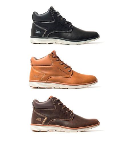 Los botines para hombre Axel de Black Barred están disponibles en tres colores por 26,95 euros con envío gratis en eBay