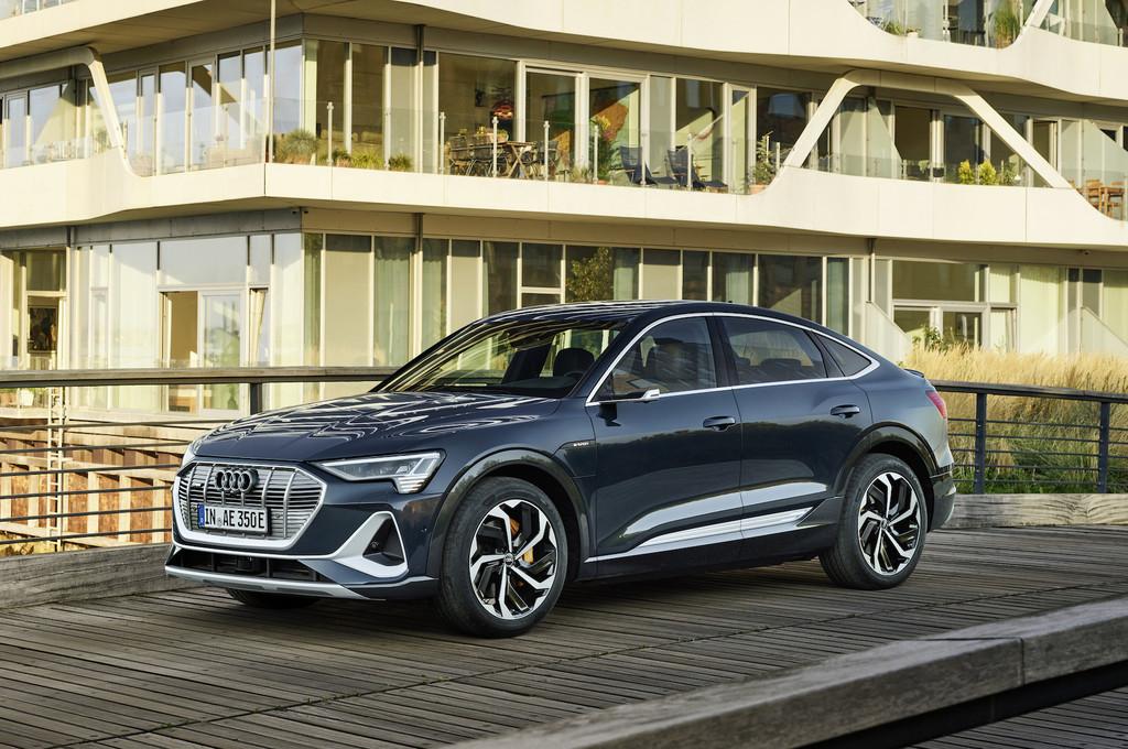 Audi e-tron Sportback, el mas reciente coche eléctrico de Audi es un SUV coupé que llegará en 2020 con inclusive 446 km de autonomía y 408 CV