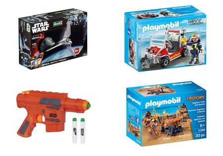 4 juguetes de Playmobil, Nerf y Revell rebajados en Amazon para ahorrar antes de navidades