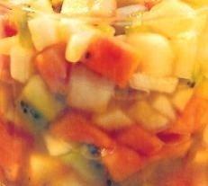 Frutas al estilo andaluz