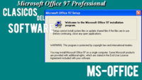 Las primeras versiones de MS Office. Clásicos del software (XIV)