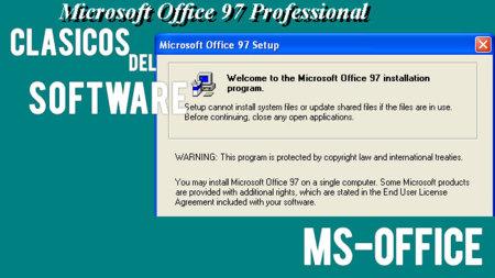 Las primeras versiones de MS Office. Clásicos del software (XIV)