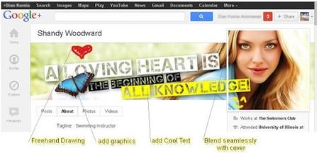 Cambia tu imagen de perfil en el nuevo Google+ con CoverPhotoEditor