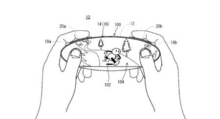 Esta nueva patente da nuevas pistas sobre el posible mando con pantalla táctil de la Nintendo NX