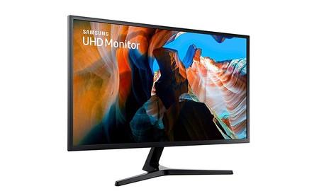 Samsung LU32J590UQU: resolución 4K y 32 pulgadas de diagonal en un monitor para PC ahora por 349,99 euros en PcComponentes