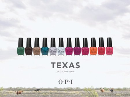 Texas, una nueva colección de OPI para la primavera del 2011