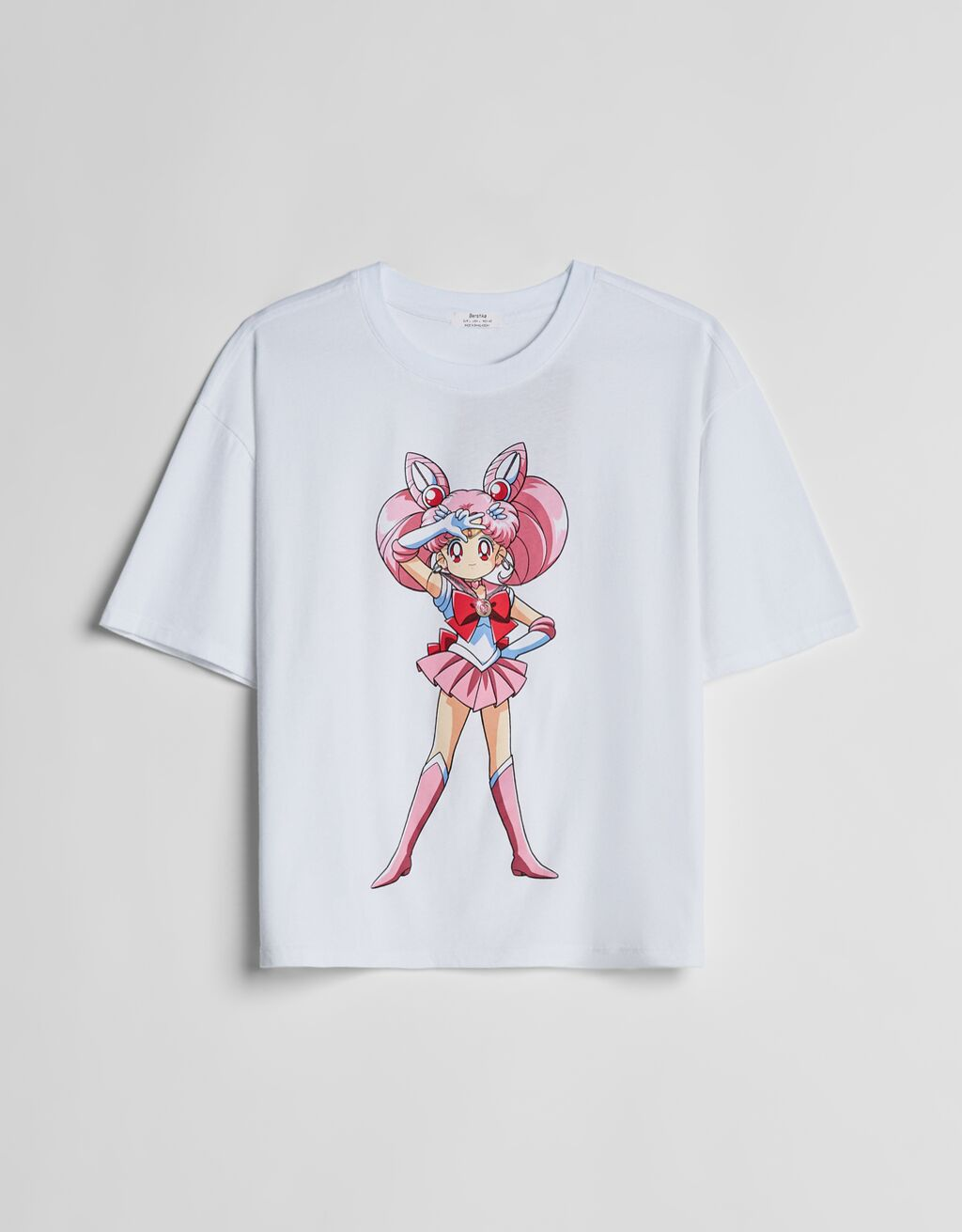 Camiseta manga corta Sailor Moon.