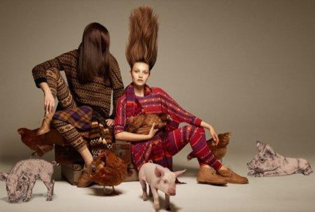 Catálogo Monki Otoño-Invierno 2011/2012: el mundo al revés también mola