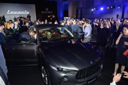 Maserati Levante Premiere Madrid