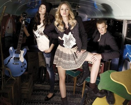 Pull And Bear, Otoño-Invierno 2010 falda