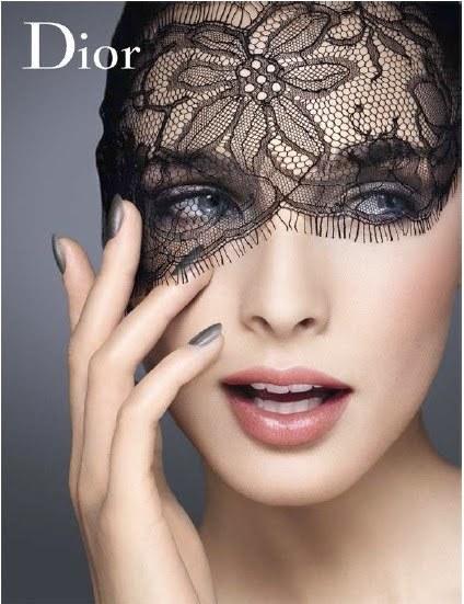 Encaje y transparencias, la primavera 2010 de Dior se llama Dentelle