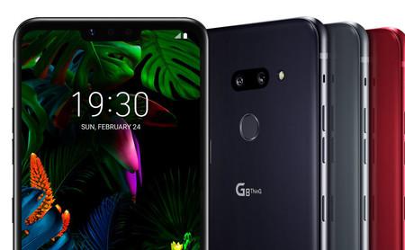 LG G8 ThinQ, altavoz estéreo bajo la pantalla y cámara frontal capaz de reconocer la palma de tu mano