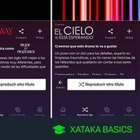 Qué es y cómo usar el botó Reproducir algo de la app de Netflix de tu móvil