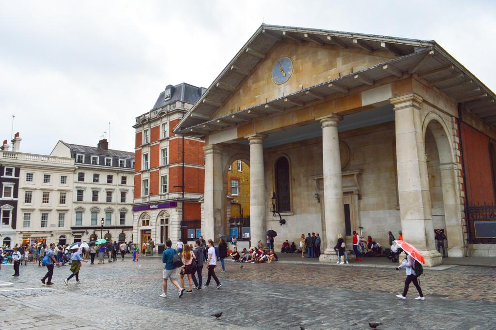 St. Paul's Church, la iglesia de los actores en Covent Garden