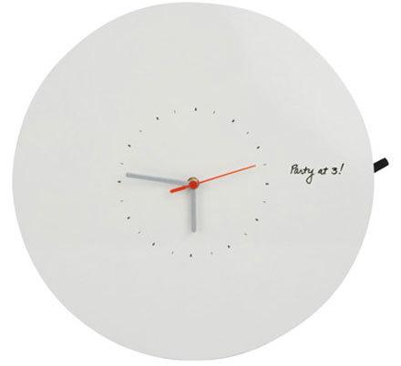 Me lo apunto en el reloj de pared