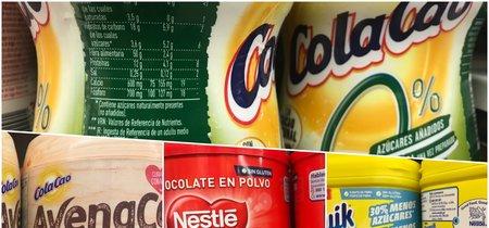 Estos son los diferentes cacaos en polvo ordenados de mejor a peor
