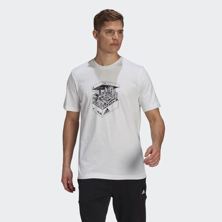 Camiseta Milan Shoebox Blanco Gt4851 21 Model