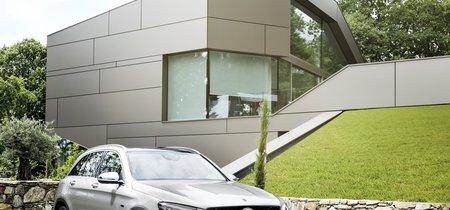 Mercedes Benz GLC F-Cell Concept, el SUV que puedes recargar en casa o en la hidrogenera