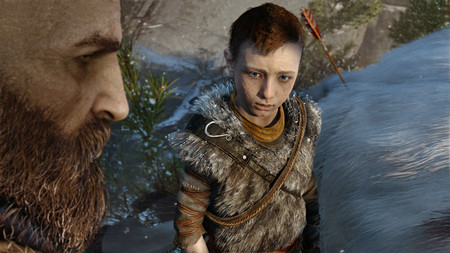 God Of War Atreus Mirada Xtk
