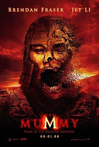 Nuevo póster de 'The Mummy: Tomb of Dragon Emperor' ('La Momia: La Tumba del Emperador Dragón')