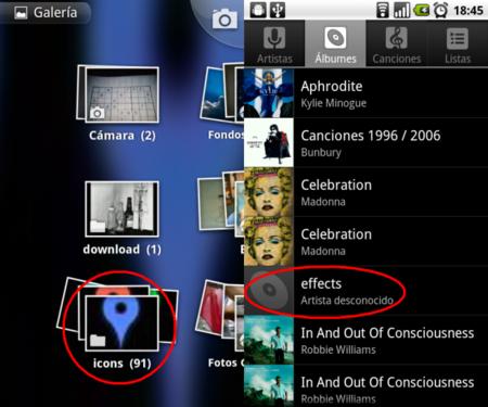Cómo ocultar fotos, música y vídeos en Android