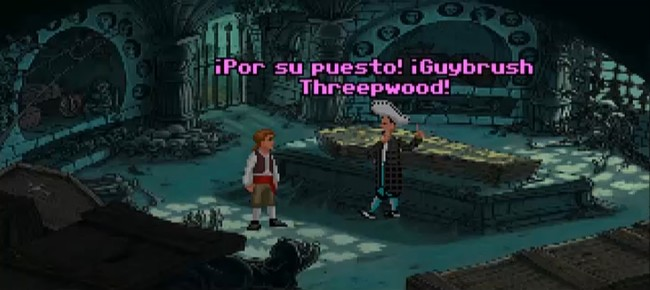 The Curse Of Monkey Island Demake