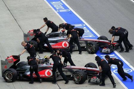 GP Malasia F1 2011: McLaren, quién te ha visto y quién te ve