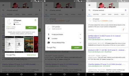 Google Search App Install