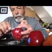 El vídeo de la manzana y lo fácil que es crear un bulo alimentario