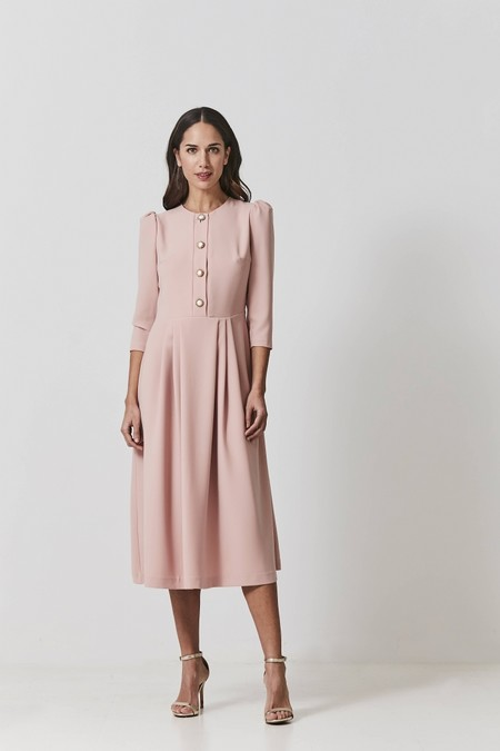 Vestido Margaret Rosa Coosy