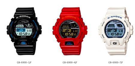 65410cd2164b Nuevos relojes Casio G-SHOCK que se comunican con Smartphones