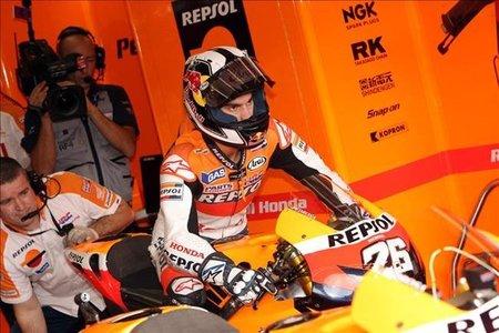MotoGP Malasia 2010: Dani Pedrosa no correrá este fin de semana