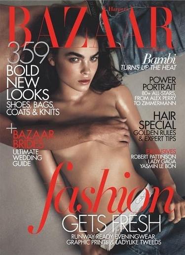 Bambi de nuevo en Harper's Bazaar, ¿una musa para la revista?