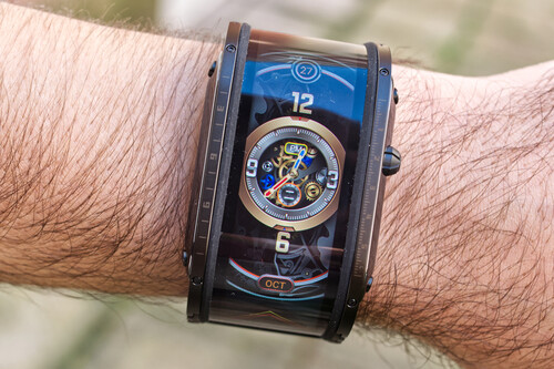 Nubia Watch, análisis: demasiado futurista por fuera para lo que realmente ofrece por dentro