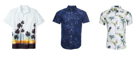 Chollos en tallas sueltas de camisas de manga corta con estampado veraniego de marcas como Superdry, Billabong o Quiksilver en Amazon