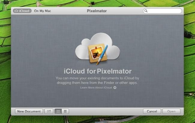 pixelmator icloud 2.1