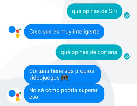Google Assistant Siri Cortana