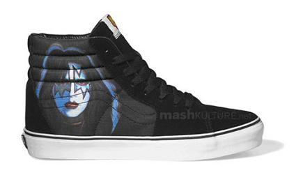Zapatillas Vans de Kiss