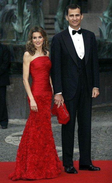 Boda de la Princesa Victoria de Suecia: Princesa Letizia