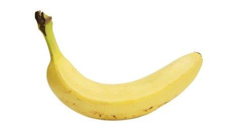 Análisis nutricional de un plátano