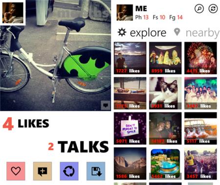 Algo de Instagram llega a Windows Phone a través de Metrogram