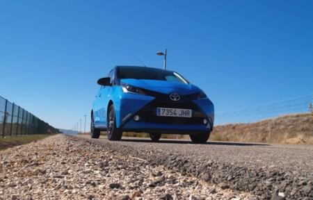 Toyota Aygo x-cite, prueba: interior y equipamiento