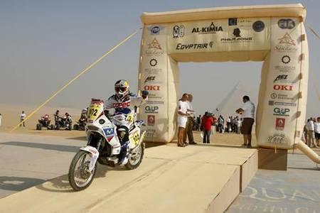 Rally de los Faraones 2009, primera etapa