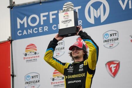 Colton Herta Indycar 2021