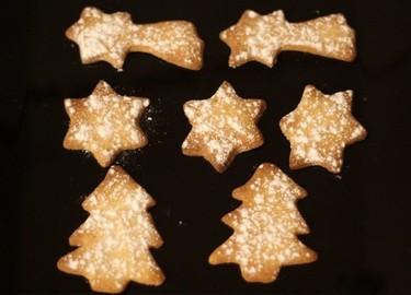 Cocinar con niños: Galletas navideñas