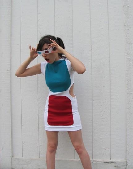 Foto de Un vestido con forma de gafas 3D (4/5)