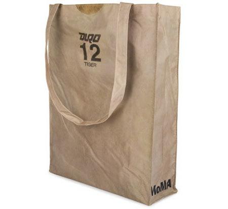 Bolsa de tela que quiere ser de papel