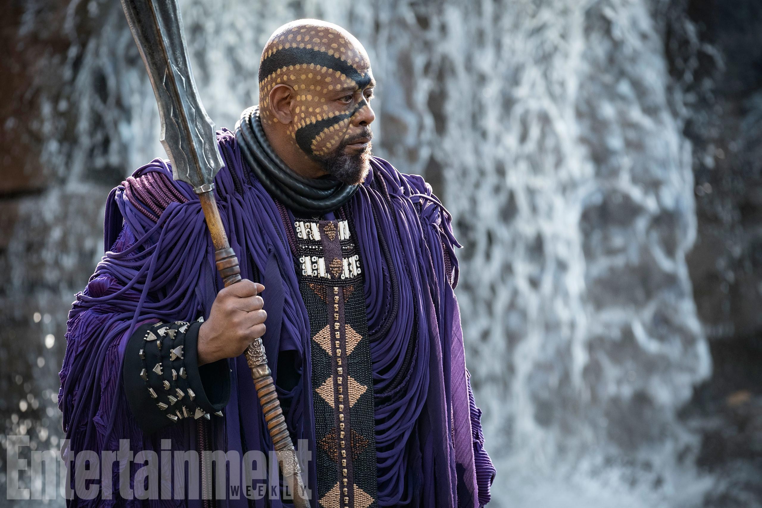 Foto de Nuevas imágenes oficiales de 'Black Panther' (16/20)