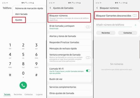 Bloqueo Llamdas Numeros Desconocidos Android 9 Pie Mexico